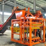 Grande machine comprimée de bloc de la terre de machine concrète manuelle de la brique Qt4-25