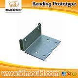 Placa da folha de metal que dobra o protótipo rápido