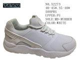 No 52273 de couleur blanche Chaussures Hommes Chaussures de sport Lady Stock