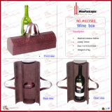 Nouveau Design Fashion Direct PU Leather Wine Carrier (6135R11)