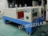 Sellado manual y Semiauto Shrining máquina con el funcionamiento y precio barato cinta transportadora para la película de plástico de PVC Térmica botella PET