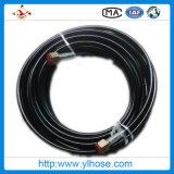 "Boyau hydraulique tressé de fil de SAE100 R2at 1 """