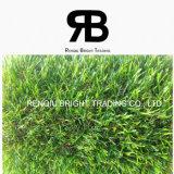 grama artificial da decoração Multicolor da paisagem de 25mm/relvado artificial/grama falsificada