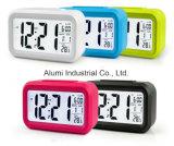 Grande display LED digital Despertador com temperatura horas do relógio de mesa