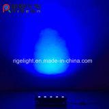 Resistente al agua de buena calidad etapa parte de la malla de arte de alta potencia P5 5*25W RGBWA 5en1 Lavado de pared LED de exterior