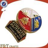 Suave de alta calidad Esmalte insignia / Pin (FTBG1309)