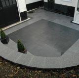 Granito di pietra grigio poco costoso che pavimenta con lo standard del Ce