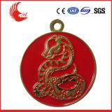 Die fördernde kundenspezifische Form Metal uns Medaille