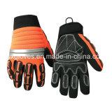 Mécanicien Glove-Safety Glove-Work Glove-Hi-Vis de gants de travail antivibrations -Gants à usage intensif