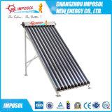 Coletor solar pressurizado elevado de tubulação de calor da câmara de ar de vácuo
