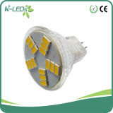 Bajo voltaje 15SMD5630 10-30V DC caliente blanco MR11 LED