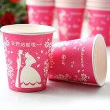 Haut de l'impression personnalisée Quanlity tasse à café en papier jetables