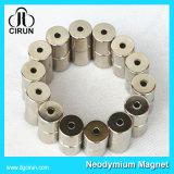 Aimants permanents agglomérés par cylindre nickelé de NdFeB