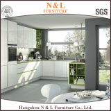 Gabinete de cozinha de mobiliário moderno estilo country com bancada de granito