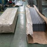 (0.125-0.5mm) 건축재료 Dx51d PPGI PPGL 물결 모양 강철 루핑 장