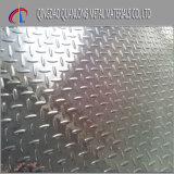 Feuille Checkered et plaque de l'acier inoxydable 304