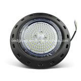 150W SMD2835 Epistar wasserdichtes CRI>80 der UFO-LED hohes hohes Bucht-Licht Bucht-Lampen-LED mit SAA TUV Cer RoHS Zustimmung