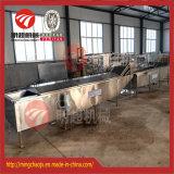 Flexible de tranche de pomme de terre Légumes ligne Precooking la pasteurisation Machine