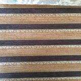 100% poliéster sofá clásico de buena calidad de tejido chenilla