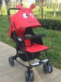 Il migliore passeggiatore pieghevole di vendita del bambino scherza il passeggiatore
