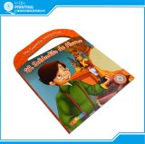 Impression de livre de livre À couverture dure d'enfant de coût bas en Chine