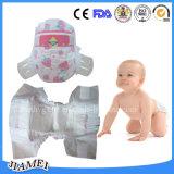 魔法テープが付いている大きさの赤ん坊のおむつの優れたおむつのための卸し売り赤ん坊のおむつ