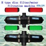 Filter van de Schijf van het Water van de Irrigatie van de Tuin van de Machine van de Behandeling van het Water van de Druppel van Baldr de Hand