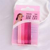 Lady Fashion Coloré peint en métal cheveux beauté Bob Pins (JE1005)
