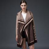 Женщин роскошь норки кашемира зимой Вязаная кофта свитер (YKY2053)