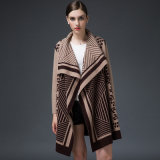Mulheres de visões de luxo Cashmere Winter Cardigan Suéter (YKY2053)