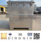 Behälter des Edelstahl-IBC für flüssige Speicherung