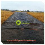 Schwarze Straßen-Matte der Farben-UHMWPE reine Material/HDPE temporäre der Matten-100% fabrikmäßig hergestellt