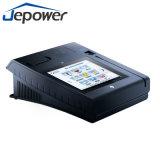 Caja registradora androide de la huella digital del pago de la posición con la máquina de la impresión
