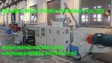 Sjsz-80/156 PVC Extrusion de feuilles de ligne de pavillon Espagnol