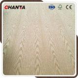 Natürlicher weiße Eichen-Furnierholz MDF für Möbel