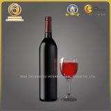 コルクの上(1262年)が付いているボルドーのタイプガラスワイン・ボトル