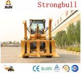 Marca Strongbull cargadora de ruedas fuertes (ZL20/ZL926) con caña de azúcar/hierba/Madera Grap
