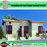 Hogares modulares prefabricados de la pequeña casa móvil prefabricada del acero del bajo costo