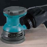 Outil d'alimentation Mini sans fil électrique à main ponceuse pour des surfaces incurvées