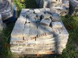 Granit naturel de pavage de la Chaussée des blocs de pierre pour le jardin