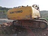 Máquina escavadora usada japonesa Sumitomo 460 para a venda