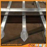 De Omheining van de Veiligheid van de Omheining van het staal met Spear Bovenkant