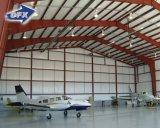China bajo precio de fabricación de acero estructural de metal hangar de aviones