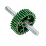 POM de plástico moldeado de nylon / / ABS Acoplamiento parte engranaje de la rueda de trinquete con núcleo de metal