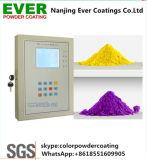 Pulverización electrostática en polvo tinta amarilla para pintar el cilindro de gas
