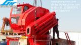 De vouwbare ZeeKraan BV van het Dek van de Boom Mariene