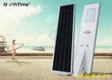 6W-120W profissional todo em um fabricante solar da luz de rua do diodo emissor de luz
