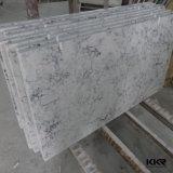 Venda por grosso de pedra mármore artificial de Mármore Quartzo composto bancada (180206)