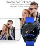 2017 het Slimme Horloge van de Pols van Bluetooth van de Camera met SIM kaart-Groef W9