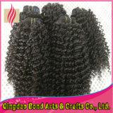 100%Unprocessed Peruvian Virgin Human Hair per le donne di colore